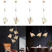 LED borboleta pingente lâmpadas nórdic art deco cor pingentes de cabeceira decorativa candelabro quarto quarto café sala de estar interior única lâmpada de teto