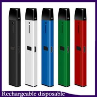 충전식 일회용 vape 펜 키트 DCPOD C107 카트리지 빈 포드 0.5ml 두꺼운 오일 기화기 VS 케이크 델타 8 D8 디바이스 0268232