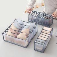 3 pcs / set cueca BRA organizador caixa de armazenamento armário armário organizadores de gaveta para calcinhas rangement dhe6700
