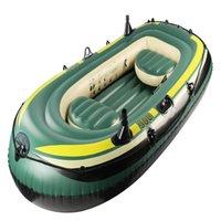 Подходит для трех человек 230 см гигант резиновый катера каяк надувные PVC рыбацкие лодки бассейна вечеринка поплавок воздушный матрас плавание плавает трубка
