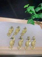 Charms 2pcs Ciondolo per cavalli da mare colorato, gioielli di fascino colorato, collana pendente gioielli moda