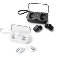 Ti8s Bluetooth 5.0 Наушники TWS Беспроводные наушники TWS Wireles In-EAR Handsfree Sports Mini Earbuds гарнитура с микрофонной коробкой зарядки