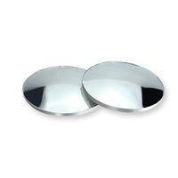 2 unids coche 360 grados sin marco ciego espejo espejo gran angular redondo convexo espejo pequeño lado redondo lado ctimspot retrovisor estacionamiento espejo