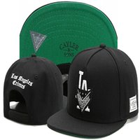 Brand Unisexe Cayler Sons Los Angeles Crimes La Lettre Baseball Caps Caps Snapback Hats Gorras Casquette En plein air Casual Sport Sunhat