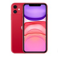 Refurbished Original 100% Apple iPhone 11 iOS 6.1 inch A13 Bionic Hexa Core 4GB RAM 64GB 128GB 256GB ROM 12MP Unlocked 4G LTE Smart Phone 1pcs
