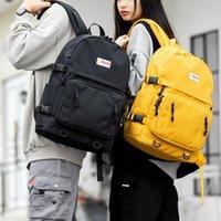 Backpack Solid Color For Women Waterproof Oxford Kids Multi Pocket School Travel Shoulder Backpacks Teenage Bags