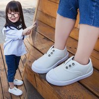 Sneakers 2021 Children's Canvas Shoes Single Baby Toddler Cotton Soft Bottom
