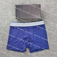 Modedesigner Mens Unterwäsche Boxer Männliche Casual Shorts Unterwäsche Brief Gedruckt Atmungsaktive Unterhose Männer Boxer Slips Unterhose 2021