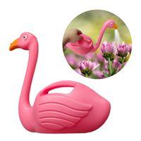 Sulama Ekipmanları Bahçe Çiçekler Için Can Plastik Flamingo Ev Mobilya Çocuk Odası Dekorasyon Trendy Bebek Oyuncakları