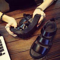 2020 Doc Men's Martins Shoes Summer New Style Outdoor Non-slip Breathable Men Fashion Trend Black Beach Shoes Casual Sandals Men CX20061 VvA