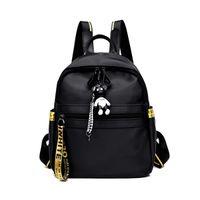 2021 new ins backpack Korean waterproof Oxford cloth backpack fashion student bag C0505