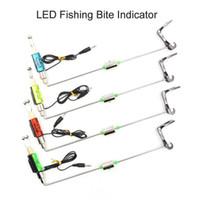Pcs Cap Fishing Swinger LED Bite Indicator Alarm Carp Tool Hooks