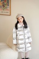 Kids Winter down coat with hooded Christmas Costumes For Children Clothing Girls Boys Snowsuit Outerwear Coats Long Parka Snow Wear