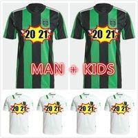 2021 2022 CECILIO AUSTIN FC Soccer Jerseys Anel Besler Fagundez Home Kit Away 21 22 Homens Crianças Futebol Camisas Camisetas Fútbol Maillot de pé