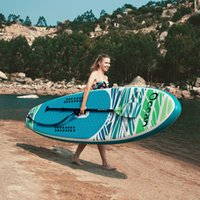 Funwater Uscaeu Warehouses Dropshiping Entrega dentro de 7 dias Surfboard 320 * 83 * 15cm Inflável StandUp StillUp Paddle Board surf Wholesale Sup Paddleboard Water Sport