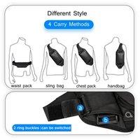2021 NEW YILIONGDAQI Mens Sport Shoulder Bagpack Sling Belt Bag Waterproof Pouch Waist Pack Bag For Men