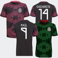 2021 México Home Away Jerseys Lozano Camisa de Futebol 21 22 Copa do Mundo Carlos Guardado G.dos Santos H.Lozano Camisetas Chicharito Maillot