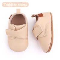 First Walkers Soft Leather Baby Moccasins Shoes Born Rubber Infant Boy Anti-Slip PU Sole Sticker Fashion Shoe