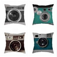 Drop Camera Creative Fashion Pillow Cover Wedding Cushion Case Boys and Girls Gift free 63P2 N67L