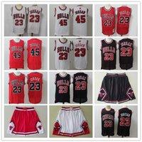 "2021 Mens Chicago ""Bulls"" jersey 45 23 Michael MJ Retrato de Basquete Basquete Basquetebol Jerseys Vermelho Preto Branco Bege Blue"