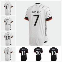 2021 Germania Soccer Jersey Home Hummels Kroos Draxler Reus Muller Gotze Kimmich Gundogan 20 21 Camicia da calcio Uniformi Uomo Kit bambini Kit