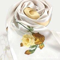 Silk Hand Sillewniki Silky Gładki dotykowy Suzhou Haftowane szaliki High-End Prezenty
