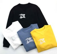 2020SS 봄과 여름 새로운 고급 코튼 인쇄 짧은 소매 라운드 넥 패널 티셔츠 크기 : M-L-XL-XXL-XXXL 색상 : 흑백 NN2B8S