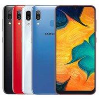 Refurbished Original Samsung Galaxy A30 A305F Dual SIM 6.4 inch Octa Core 4GB RAM 64GB ROM 16MP Unlocked 4G LTE mobile phone