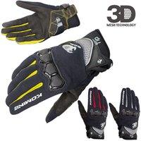 Summer Touch Screen KOMINE GK162 3D Mesh TECHNOLOGY Motorcycle Rding glove motorbike Moto racing gloves M-XXL