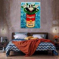 Огромная картина маслом на холсте на холсте декор Home Rapcarafts / HD Print Wall Art Picture Chationsation приемлема 21050411