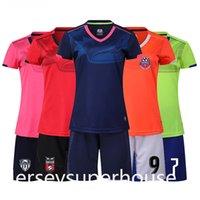 Fussball Jersey Set Kinder Fußball Kit Kleidung Frauen Kind Futbol Training Uniformen Sets Weibliche Überlebensfußball-Kits