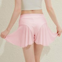 Shorts femininos cintura alta polo dança plissada mini apertado bikini sexy maduro descasca fina calças de saia curtas