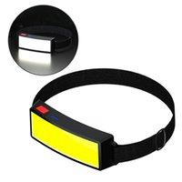 Запуск фары USB аккумуляторная со встроенным аккумулятором Освещение Широкоугольный Hiking 1 Штам головной лампы Фара факелов