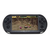 Portable Game Players 5.0 Large Screen Handheld Player Support TV Out Put With MP3 Multimedia Black 8G