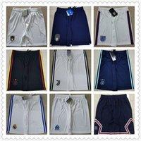 Top Thai Quality Футбольные майки мужские короткие футбольные шорты ретро рубашки 22 штаны Maillot ноги Camisa Futebol Trainers 666