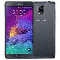 Oryginalny odnowiony Samsung Galaxy Uwaga 4 N900A / T / V Android 5.7 cal 16mp Quad Core 3 GB RAM 32GB ROM OBLOKOWANE 4G LTE Telefon komórkowy