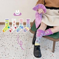 Sommer 4paare / los Baby Mädchen Socken Koreanische Stil Cartoon Atmungsaktive dünne Mesh-Kinder Jungen für Kinder