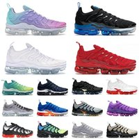 nike air vapormax air max airmax off white tn plus Top Quality 2021 Tn Plus US 13 Chaussures De Course Pastel ALL Blanc Rose Violet Dégradé Tns Hommes Femmes Baskets Baskets Sport
