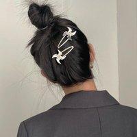 Hair Clips & Barrettes 1 Pair Ins Harajuku Fire Darts Pin Creative Cool Girl Punk Alloy Metal Hairpin Accessories
