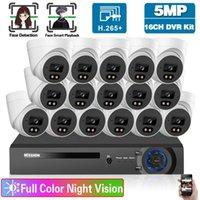 مراقبة نظام الكاميرا 16ch dvr كيت كامل اللون للرؤية الليلية الأمن المنزلية الأمن المنزل مراقبة الفيديو 8CH أطقم لاسلكية 8CH