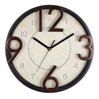 Nordic Wall Clock Vintage Kitchen Retro Clocks Gold Silent Watches Home Decor Creative Modern Living Room Decoration Gift