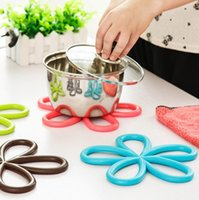Tapis d'isolation Temple isolé Cadre Cool Tool PROTECTIONS DE SURFACE PVC TableMat Cuisine Outils ZHL995