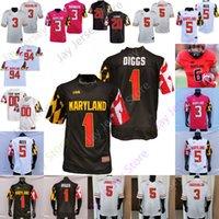 Maryland Terrapins Football Jersey Ncaa College Dontay DeMus Jr.stefon Diggs Taulia Tagovailoa Rakim Jarrett Tayon Fleet-Davis Isaiah Jacobs Jackson Leake