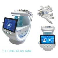 Ice blue magic mirror skin analyzer Hydrafacial Microdermabrasion Facial Machine SkinCare Small Oxygen Hydrogen Bubble Hydrogenation