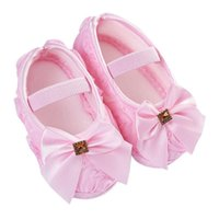 Малыш малыш ребёнок роза бантик эластичная группа родился гулять туфли первые ходунки