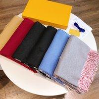 Foulards de mode pour hommes et femmes Four Saisons Checked Lettres Cashmere Designer Foulard de haute qualité 180x65cm