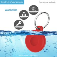 2021 Toy Pop Fidget Locator Tracker Anti-Loss Device Key Chain Applies to Apple AirTags Silicone Case multi color