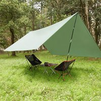 3mx3M Ultralight Shelter Shelter Camping Waterproof Tarp Tatment Tente Hammock Rain Fly Fly Camping Sunshade 665 Z2