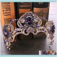 Headpieces , & Eventsluxury Bridal Crown Sparkle Rhinestone Crystals Wedding Crowns Crystal Headband Hair Aessories Party Tiaras Baroque Chi