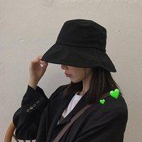 الفن الياباني وقبعات الأطفال الطبعة الكورية الربيع السفر الأزياء ظلة الترفيه جوكر الوجه تغطي الصياد حافة واسعة القبعات
